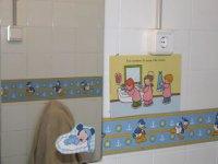 El lavabo de los niños