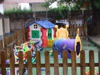 Nuestro amplio patio de recreo