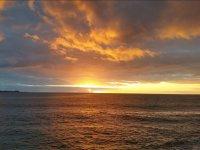 日落在Puerto Sherry