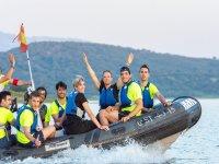 Excursion en bateau en groupe