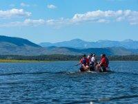 Excursion en bateau avec moniteurs