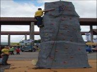 Nuestro monolito para escalada
