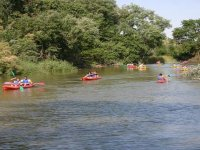 Giro del fiume in canoa