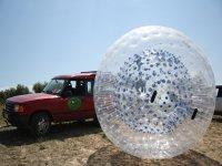 太空球探险路径与汽车