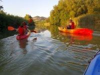 Itinerario de kayak Rio Jandula