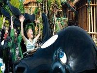 Kinderlandia the place for the children of Loro Parque