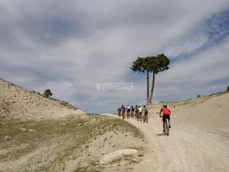 卡索拉的山地自行车路线