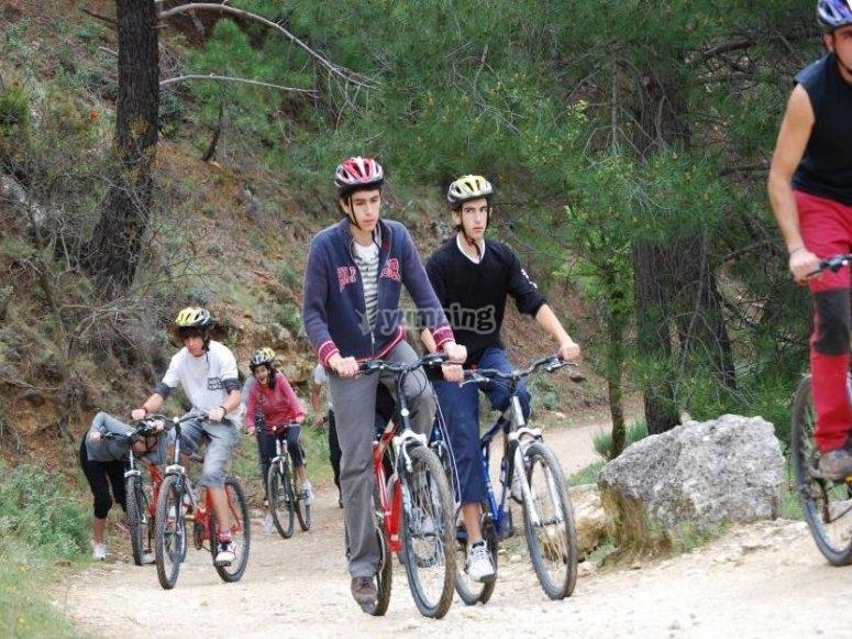 卡索拉山地自行车之旅