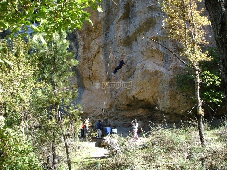 Giornata di arrampicata