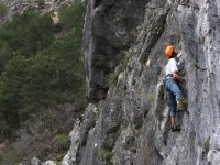 Climbing zip-line and rappel Pack in Cazorla
