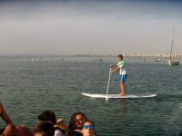 Paddle Surf in Acuatic Sea