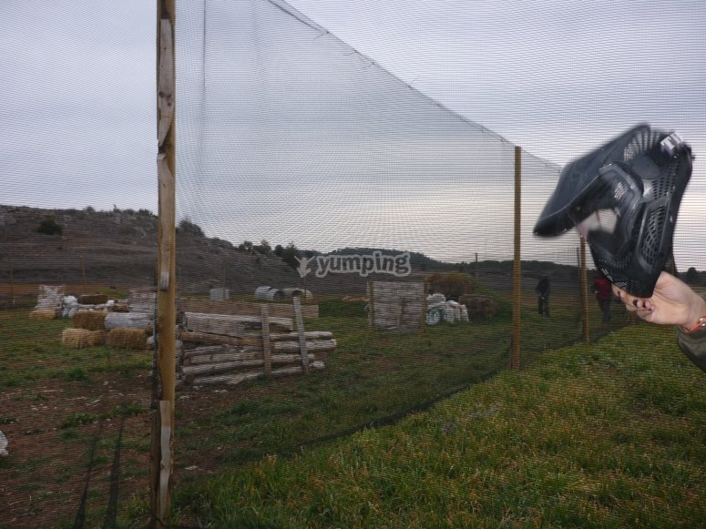 Paintball para despedidas en Ciudad Real
