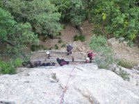 Climbing with beginners