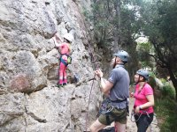 Climbing with children