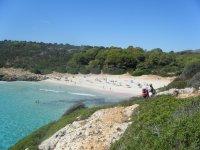 Views of Cala Falco