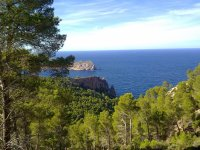 Mediterranean coast Balearic