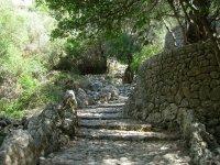 Stone steps in Mallorca