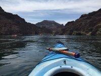 Kayak primer plano
