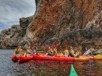 Kayakismo en grupo Islas Medes