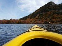 Vista kayak desde dentro