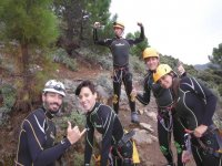 Excursion de espeleologia
