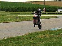 Caballito en moto