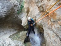 Canyoning in Barranco Los Marines