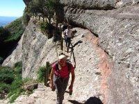 un camino no apto para los que tengan vertigo