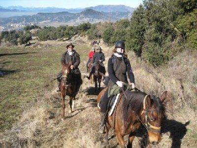 2 días a caballo en Masías y Rupit + alojamiento