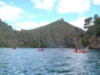 Paesaggio generale delle acque di Cuenca