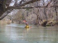 Acque calme in canoa