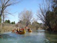 Divertirsi in canoa
