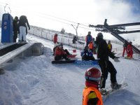 Indicaciones de Snowboard