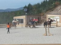 骑马的经验教训在我们hipica