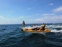 Kayak a motor en Mogan