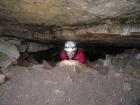 En una cueva