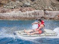 Kayak con motor individual