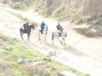 por caminos a caballo