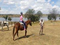 Clases de montar a caballo infantiles