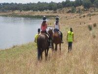 Paseo a caballo por el Pantano de la Colada