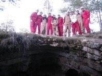 Antes de entrar en la cueva