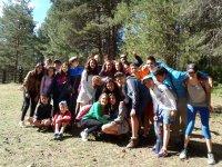 alumnos del campamento