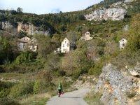 Paesaggio del villaggio di