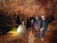 Espeleología en nuestras cuevas conquenses