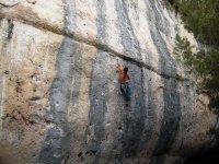 Hombre de Escalada en Cuenca