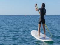 带着孩子PADDLE SURF LOGO