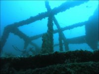Diving in wrecks