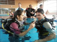 Training in confined water