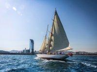 Classic boat ride in Catalonia