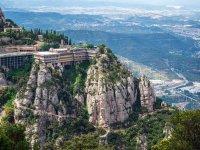 Montserrat near Barcelona